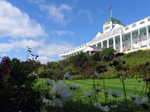 Grand Hotel on Mackinac Island has welcomed guests since 1887