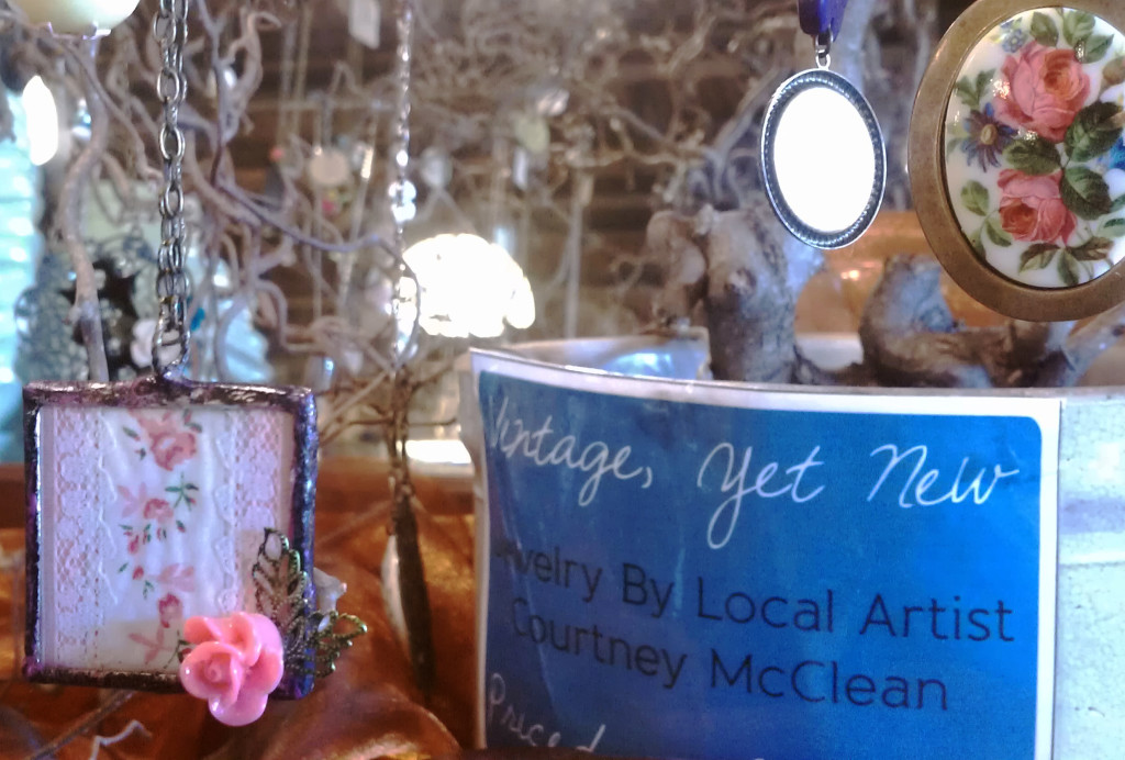 """Vintage, yet new"" describes Old Town, a revitalized neighborhood on Lansing's north side, and jewelry you'll find there by local artist Courtney McClean"