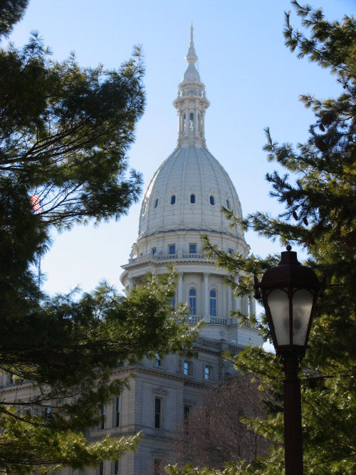 Michigan's Capitol was completed in 1879 in Lansing