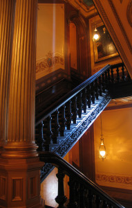 Capitol stairway_9586