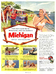 Vintage Michigan color