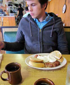 Graham approved of the Northside's corned beef hash