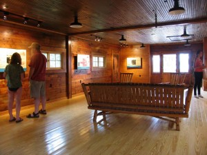 Learn the island's history at the attractive visitor center at Williams Landing