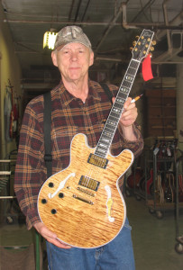 Musician Ren Wall worked for Gibson and continues at Heritage Guitar