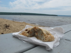 A pasty picnic at the beach would be nice