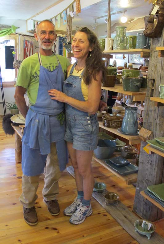 Thomas and Jill opened their gallery in 2006