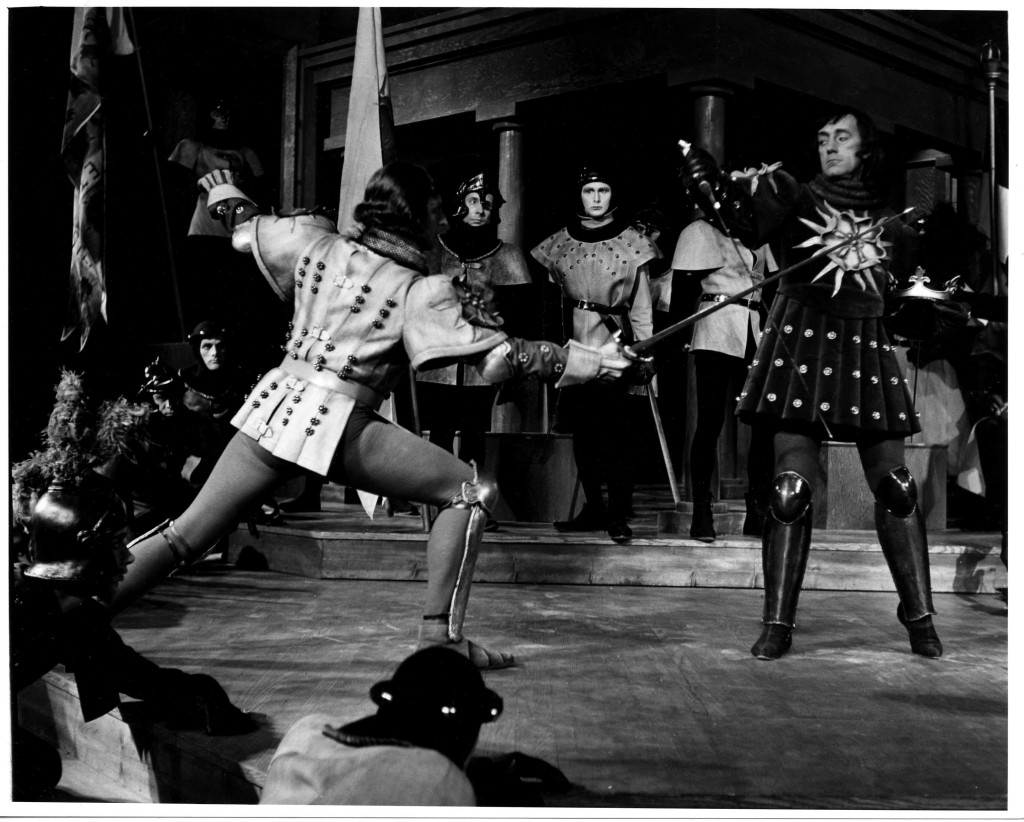 Richard III starring Alec Guinness, was the inaugural production at the Stratford Shakespeare Festival in July 1953 (Stratford archive photo)