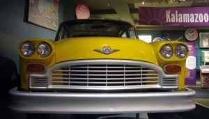 "Checker Cabs, ""the Rolls Royce of taxicabs"" were built in Kalamazoo"