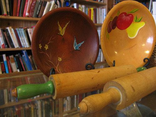 Munising Woodenware at Falling Rock Cafe & Bookstore