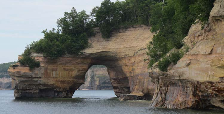 sea cave Pictured Rocks_1979