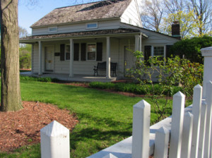 Henry thought it'd be cool for guests at the Dearborn Inn to stay in replica homes of Americans including Edgar Alan Poe