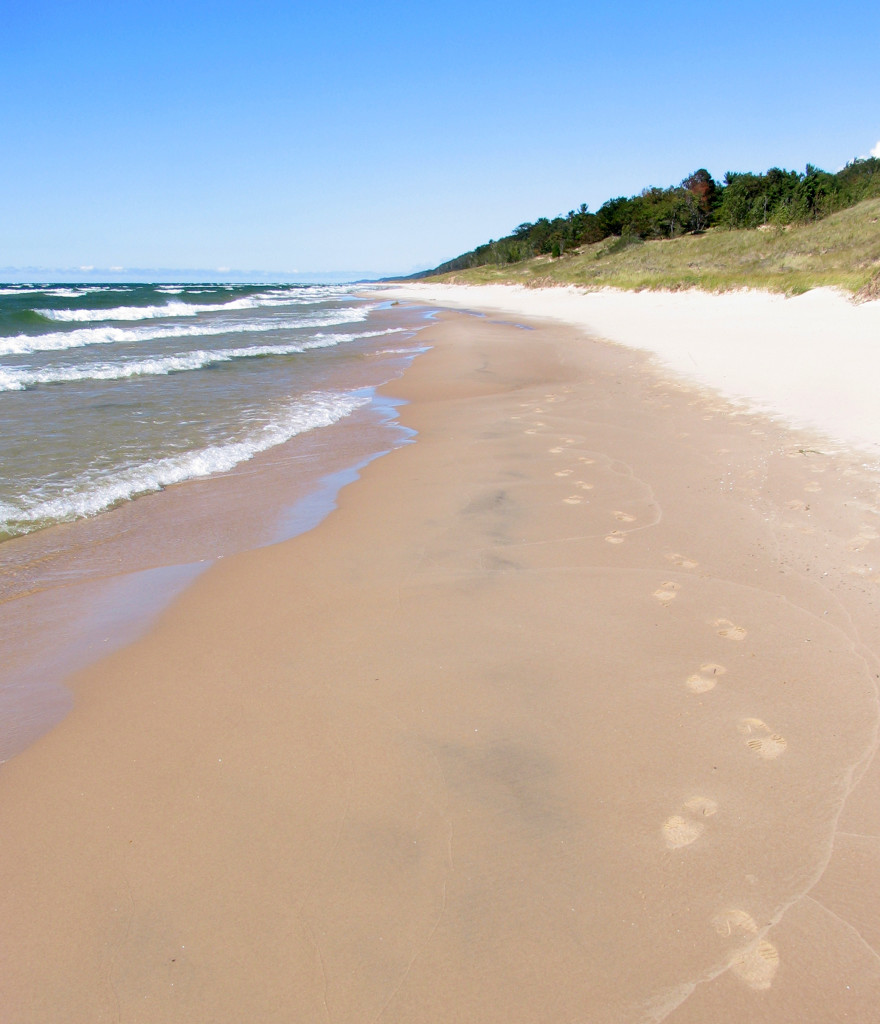 Hoffmaster State Park near Muskegon is on the Lake Michigan Water Trail