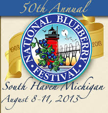 blueberry fest logo