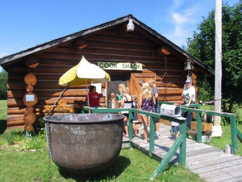 Eat like a lumberjack at the cook shack, Tahquamenon Logging Museum