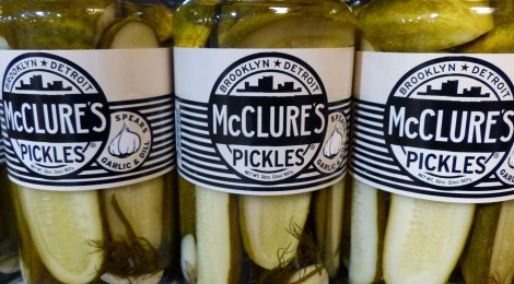 McClure's Pickles Pack a Punch from Detroit