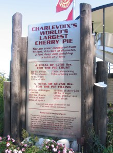 Facts about the (now) third largest cherry pie