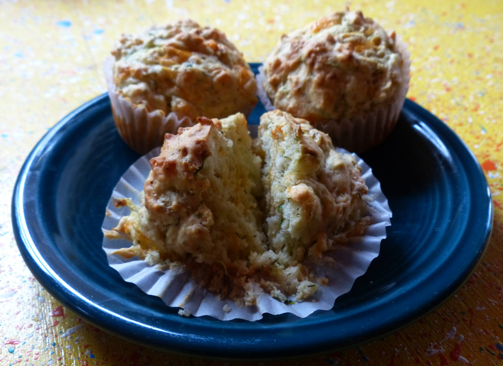 Got zucchini? Make muffins!