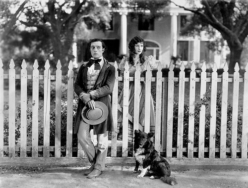 "A scene from ""Our Hospitality,"" the feature presentation at this year's Buster Keaton Convention in Muskegon"