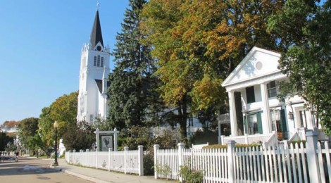 Fall for Mackinac Island