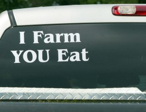 A truck at Kirklin Farm, one of the Food Dance food sources