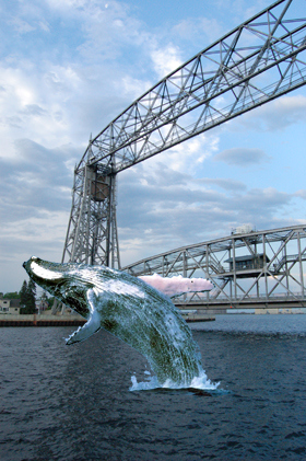 Aerial Bridge, Duluth MInnesota (Seiche photo)