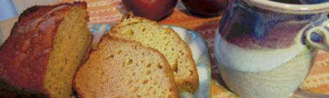 Inn Season: Applesauce Nut Bread