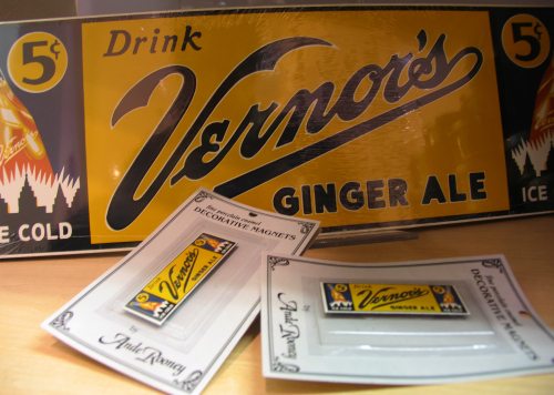 Vernors souvenirs at the museum shop of the Henry Ford Museum in Dearborn