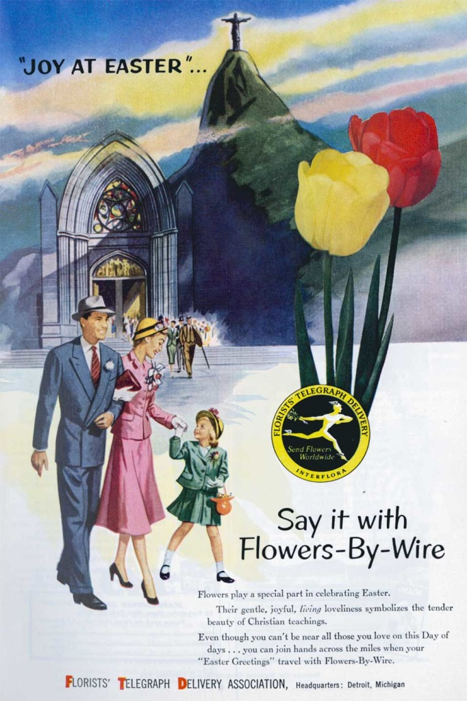 (ad from National Geographic, April 1954)