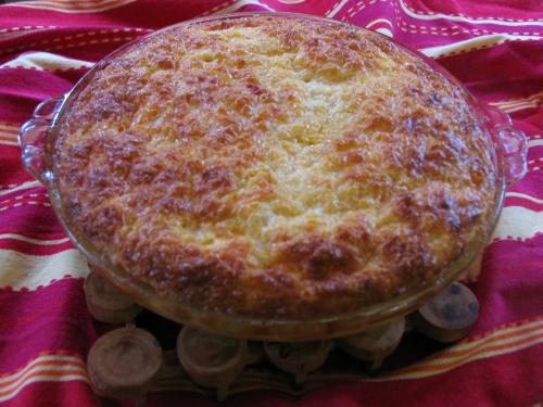 Cheri's famous casserole is a great brunch dish