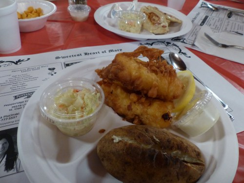 Friends, family and fried fish come together at Sweetest Heart of Mary Church, Detroit
