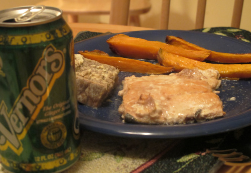 Detroit's ginger ale makes a sweet fish dish