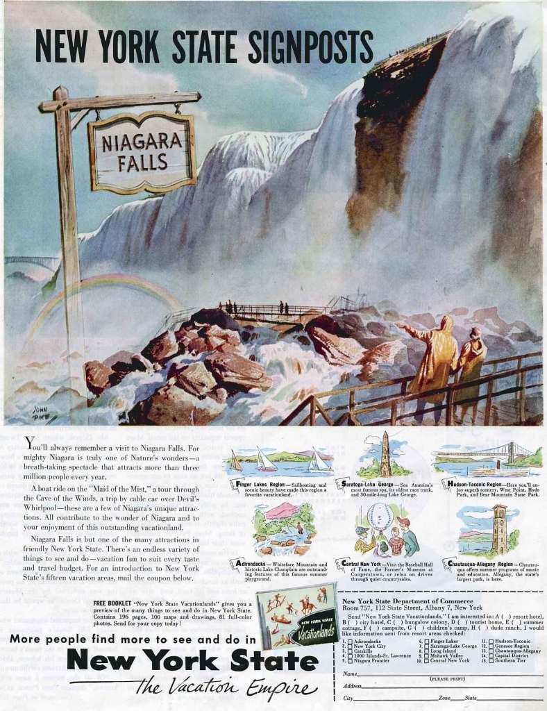 New York State Niagara Falls