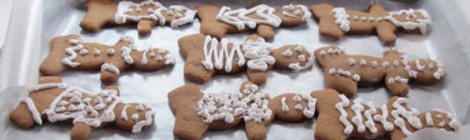 Recipe File: Gingerbread Men (and Women)
