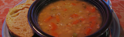 Recipe File: Senate Bean Soup