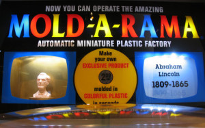 Nothing says presidential like the amazing Mold-A-Rama plastic factory