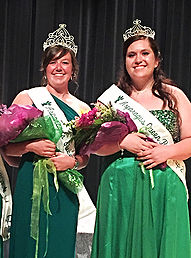 Asparagus Queen 2016 is Mary Harris (left); Mandy Achterhof is 1st Runner-Up