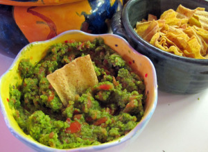 Asparagus guacamole is a tasty twist on the