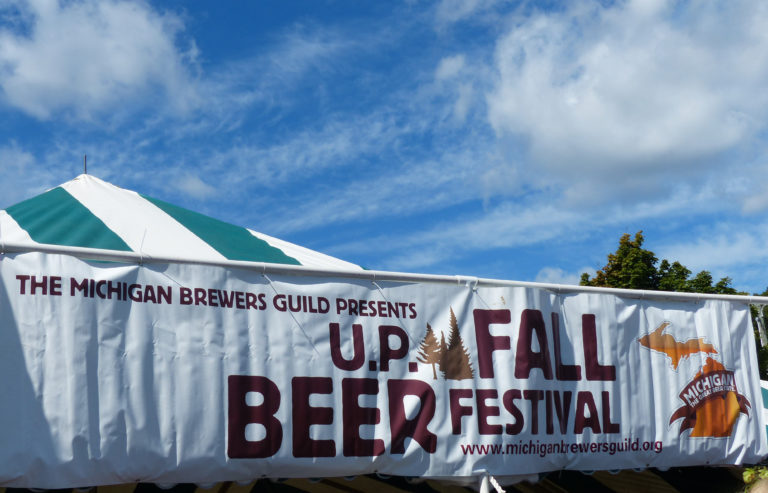 The U.P. Beer fest happens from 1-6 p.m., Saturday, September 10 in Marquette