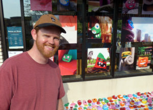 Aaron Zenz and his six kids painted 500 pairs of rocks; the entry made it to the top 20 in the public vote